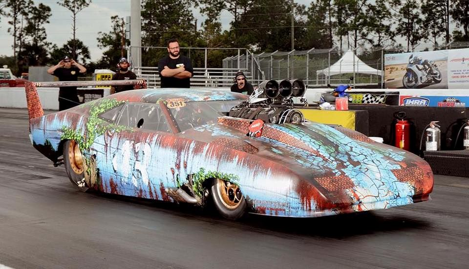 Craig Sullivans Custom Pro Mod Petty Barn Find Drag Car Has Been Racing This In 2016 And Again 2017