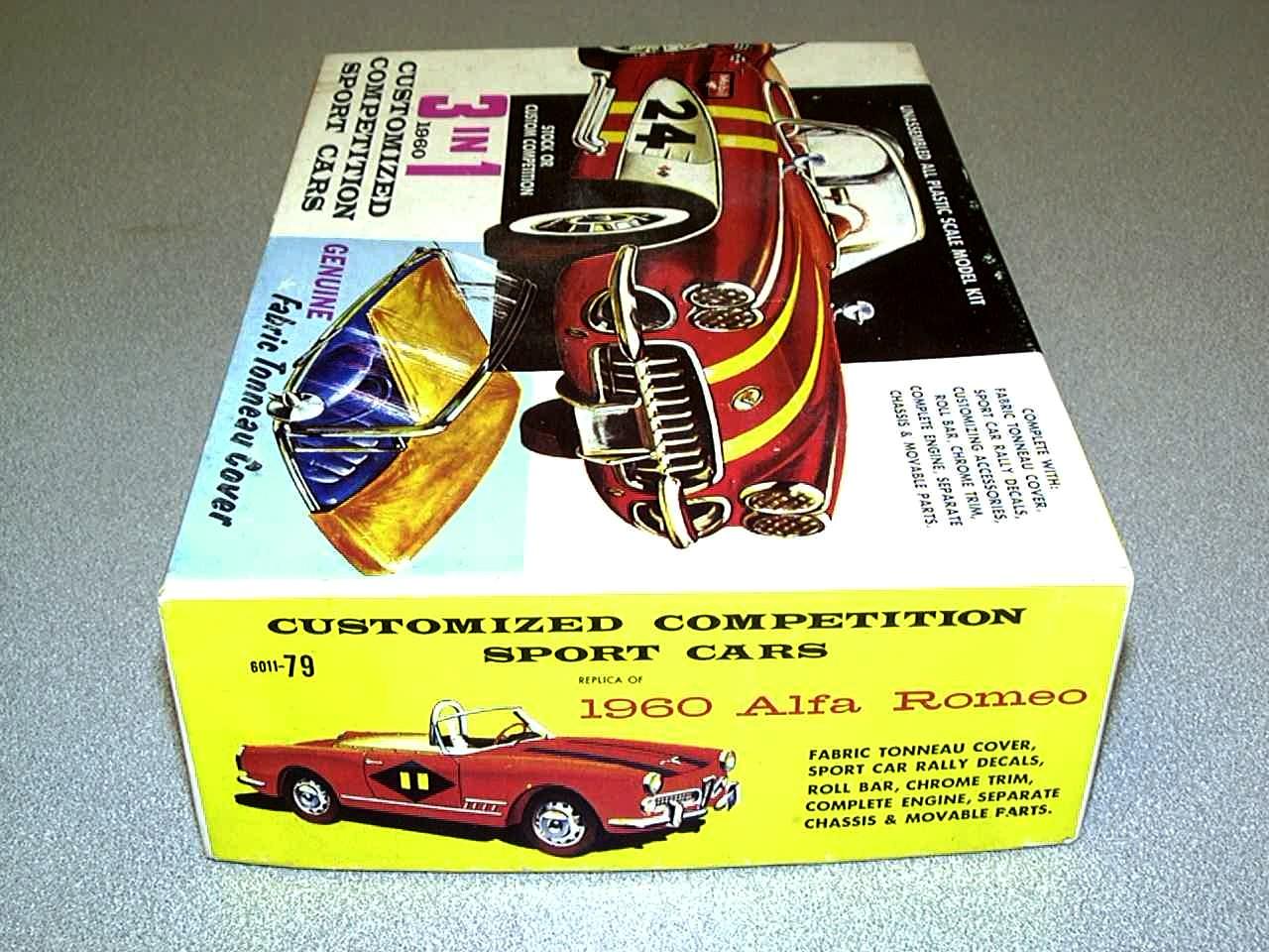 1960 Alfa 2000 Spider plastic